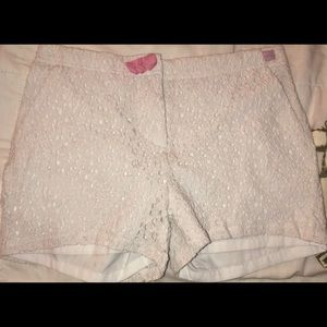 LittleMissMatched White Shorts Size 12